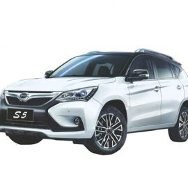 BYD S5 SUV 7 Seats